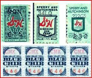Green stamps!!