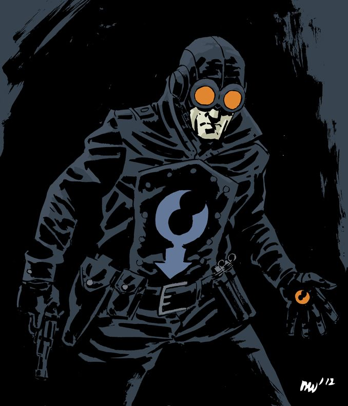 lobster johnson a dog in the fight pinterest
