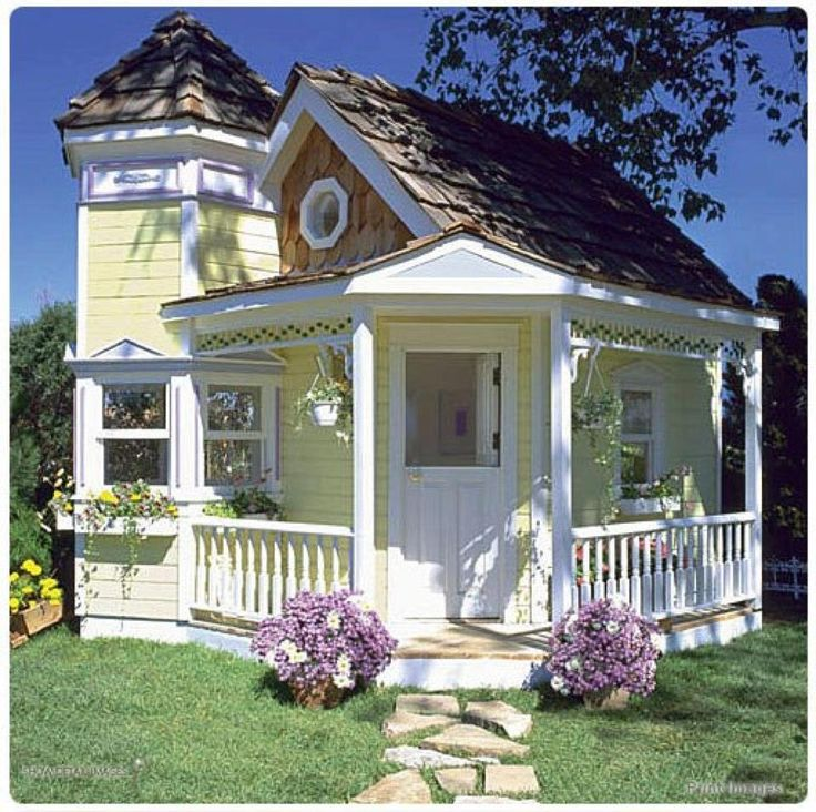 Yellow Cottage Tiny House Small Homes Pinterest