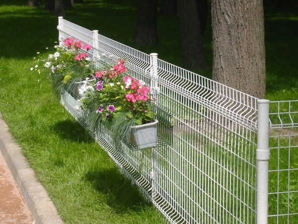Garden Fence Ideas Could We Get A Wire Fence Approved