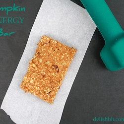 Pumpkin energy bar + base recipe for energy bars ....Punchfork — The ...