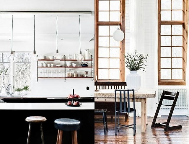 Scandinavian kitchen tables sweet kitchen pinterest - Scandinavian kitchen table ...