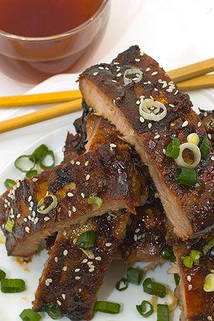 Hoisinful Nine Dragon Chinese Ribs | Recipes - Asian Flair | Pinterest