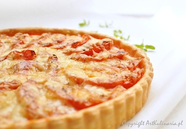 french tomato tart with gruyere cheese | RECIPES - BREAKFAST and BRUN ...