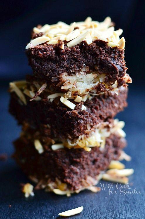 Almond Joy Brownies | Bars & Brownies | Pinterest