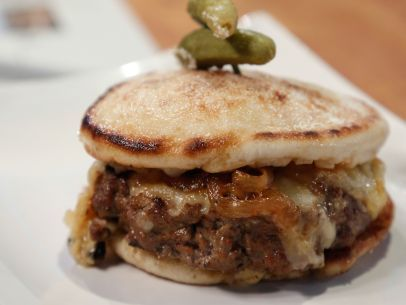 As seen on Beat Bobby Flay: French Onion Soup Burger