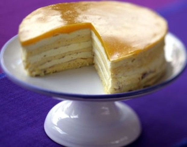 Lemon curd layer cake | Divine Desserts! | Pinterest