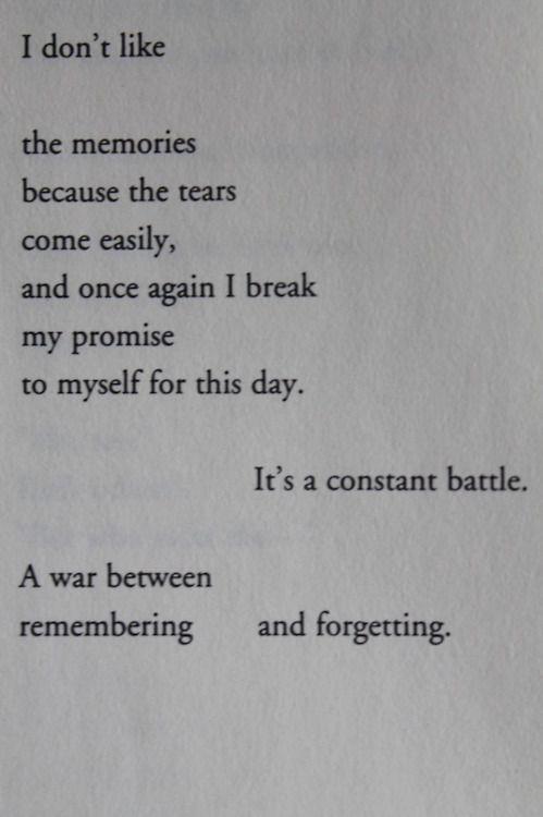 Sometimes I feel this way...