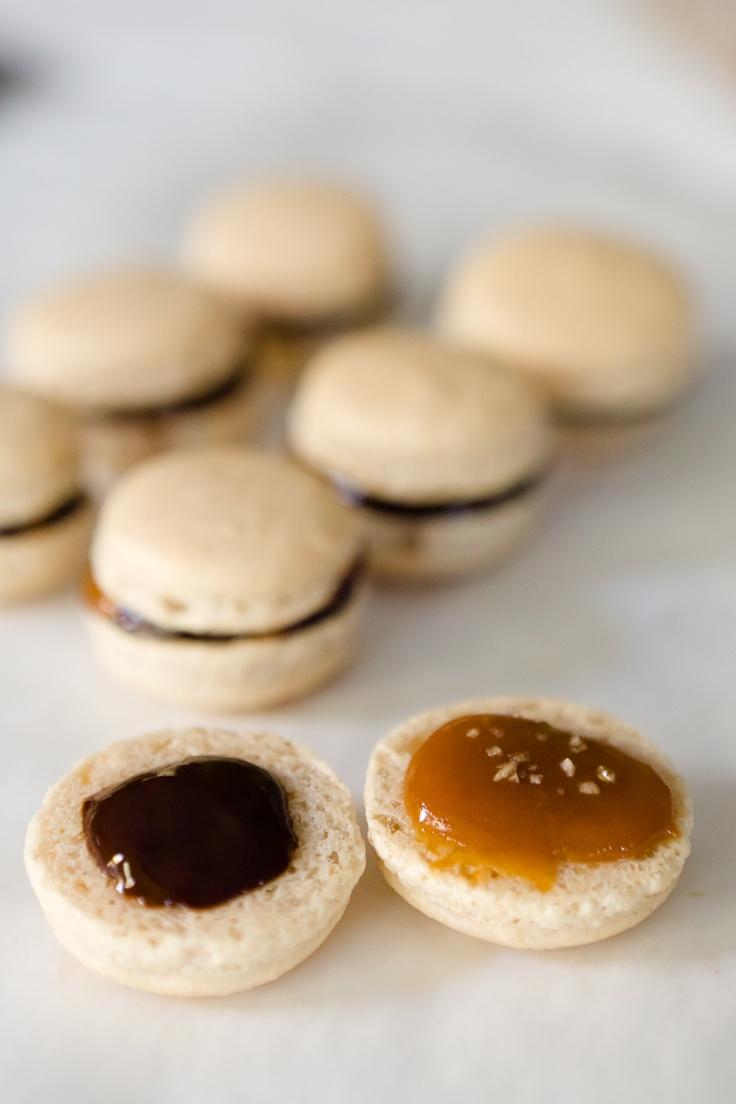Macaron Recipe – Pumpkin Pie Spice Macarons with Caramel, Dark ...