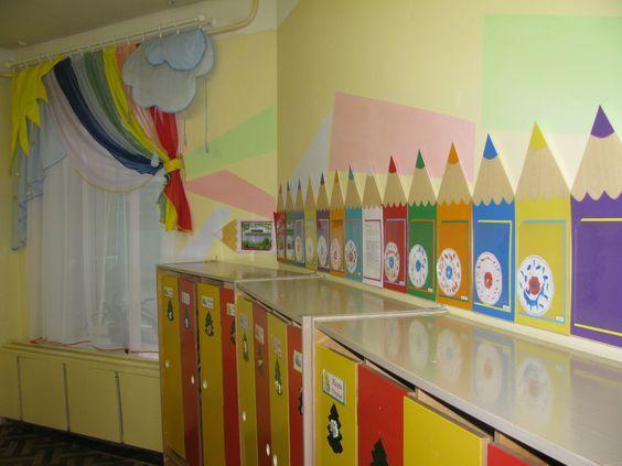 Идеи оформления в детском саду своими руками