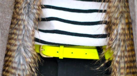 Neon belt