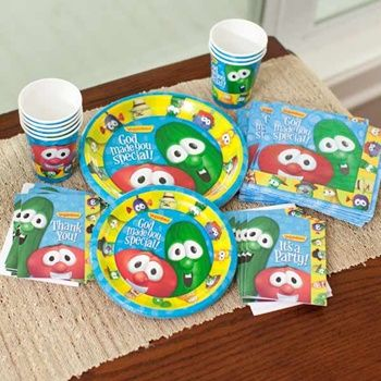 Veggie Tales party supplies