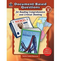 document-based questions for reading comprehension and critical thinking grade 3