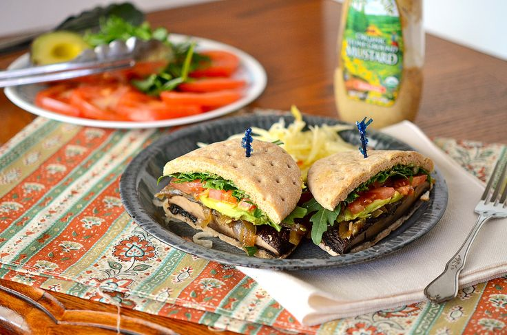 Grilled Portobello Burgers with Caramelized Onions – Recipe - Spry ...