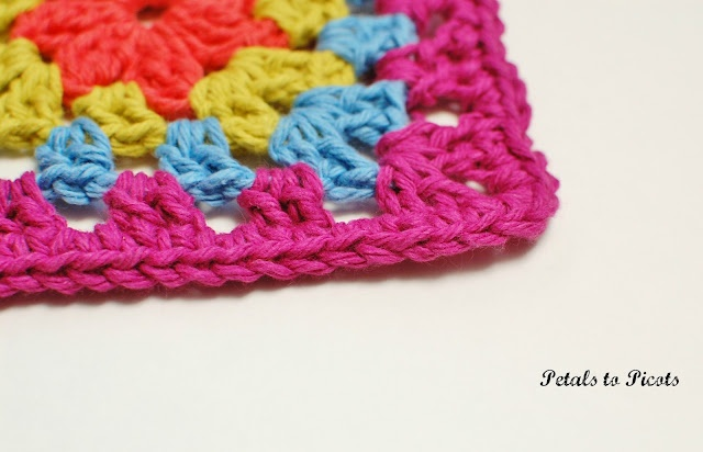 Crochet Fasten Off : Crochet Tutorial: The Invisible Join and Fasten Off