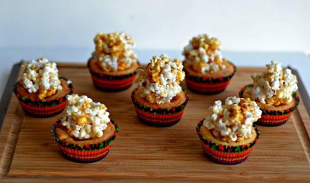 Caramel Corn Blondies | Sweets 4 the Sweet | Pinterest