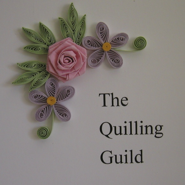 Claire's paper craft: paper quilling done for the Quilling Guild