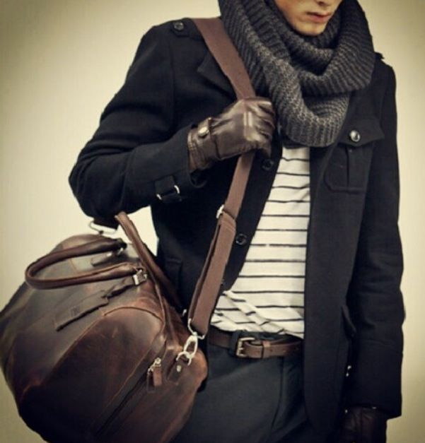 the leather gloves just makes all come together. Every man should own a pair raddestlooks.net #raddestlooks