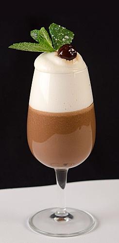 Crème au chocolat forêt noire (pour adultes) ¦ Mamina