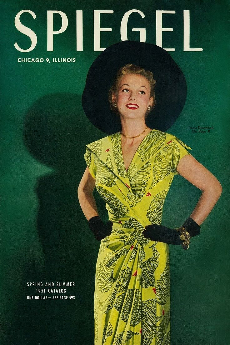 Spiegel catalog 1951 50s fashion inspiration pinterest for Spiegel magazi