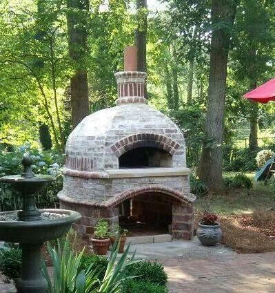Outdoor Brick Oven For The Home Pinterest