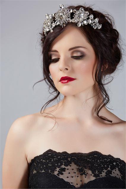 Dramatic Wedding Makeup wedding Pinterest