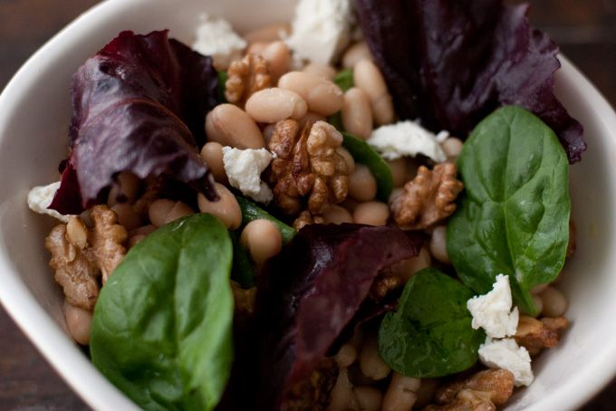 High Protein Recipes... White Bean Salad Recipe