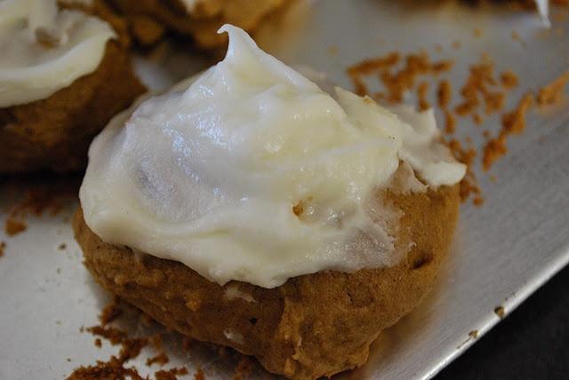 Iced Pumpkin Cookies | Yums Yums | Pinterest