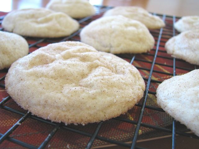Buttery Crisp Snickerdoodles