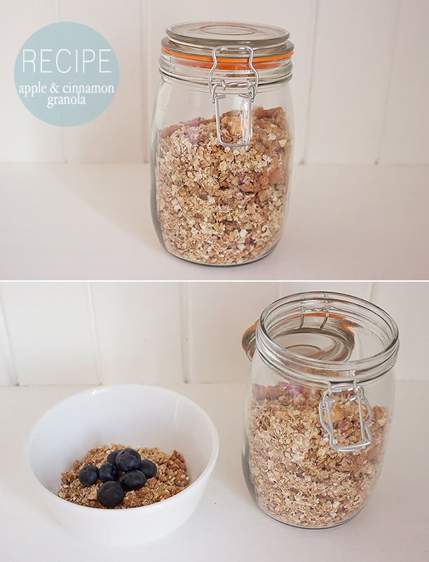 RECIPE: Apple & Cinnamon Granola | Recipes | Pinterest