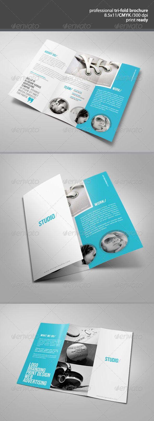 tri fold brochure design ideas