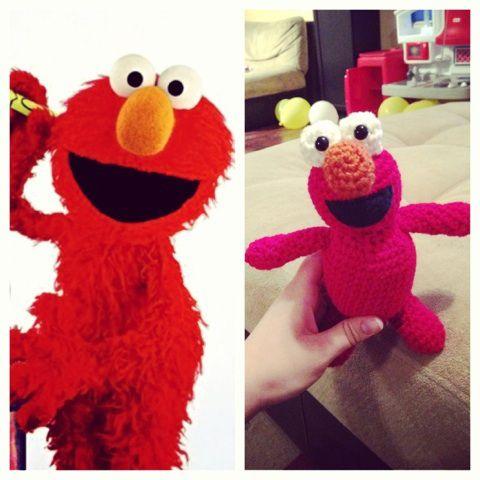 Crochet Elmo Amigurumi Crochet, Sewing & Crafts Pinterest