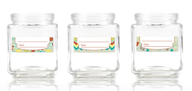 Date Mates from Mabel's Labels will help you remember what's inside each container and the date it was packaged. #weePLAN #backtoschool