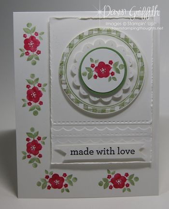 Kind & Cozy  stamp set  from the  Stampin'Up! 2013/14 Annual catalog