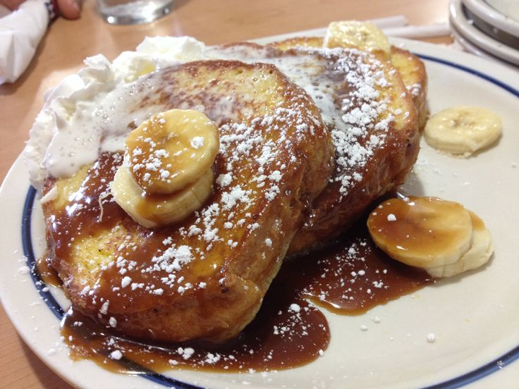 Bananas Foster French Toast! | Baking | Pinterest