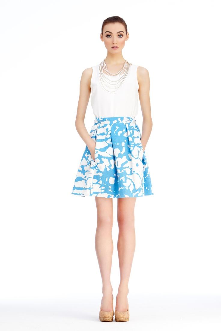 Pleated Pollock Skirt Charlotte Brody Everyday Fashion Pinterest