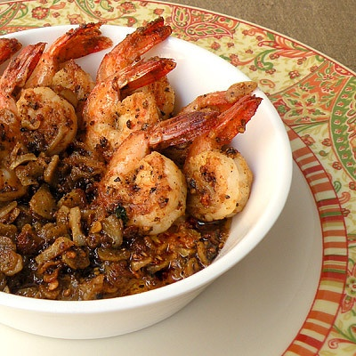 Butter Garlic Pepper Prawns | Fish and Seafood | Pinterest