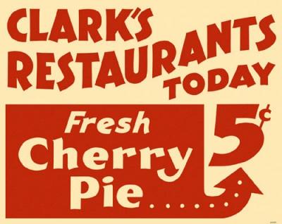 cherry pie sign