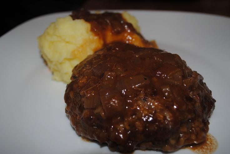 Salisbury Steaks with Caramelized Onion Gravy