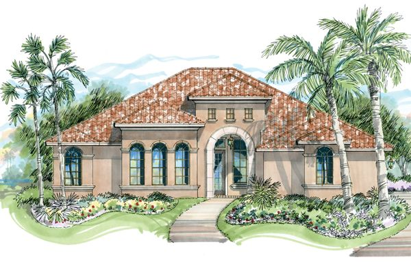 South Carolina Luxury Custom Home Design House Plans