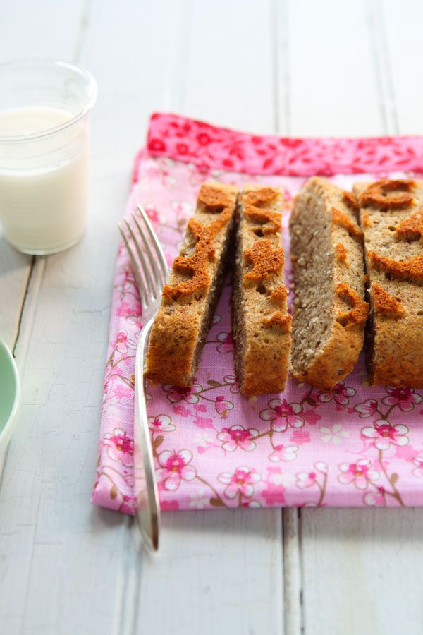 jamaican banana bread with coconut & rum, also gluten-free, made with ...