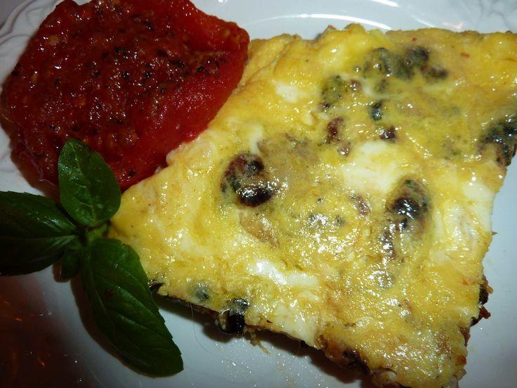 "Zucchini and Onion Frittata | ""Deja Vu"" Cook | Pinterest"