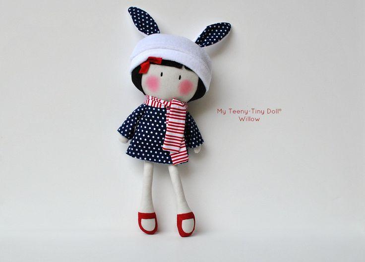 "Мой Тини-Крошечный Кукла ® Уиллоу / 11 ""Handmade Fashion Dolls Кука вас Некоторые Лапша ®"