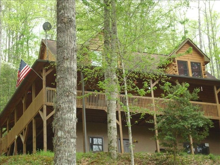 Pin by dani b on we need a vacation pinterest - Small log houses dream vacations wild ...