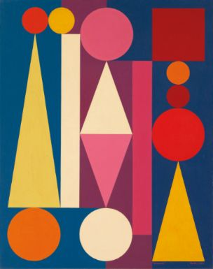Colorful Shapes Make Me Really Happy - Auguste Herbin