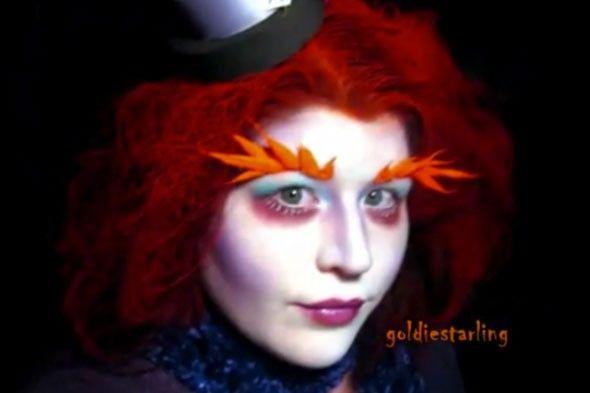halloween mad hatter makeup tutorial