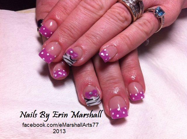 Acrylic Nail Art.. Young Nails | ☆NAILS☆ | Pinterest