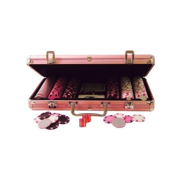 La S Pink Poker Chip Set Your Guide To Online Casino Gambling Found On Polyvore Books