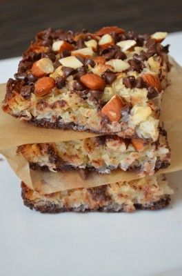 Almond Joy Bars are a decadent spin on the classic candy. These bars ...