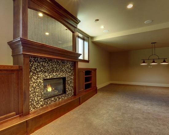 basement fireplace ideas basement ideas pinterest